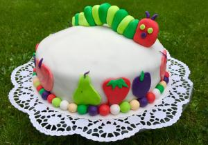 Torte Raupe Nimmersatt